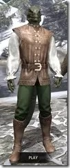 Soiree in Camlorn Evening Outfit - Argonian Male Front