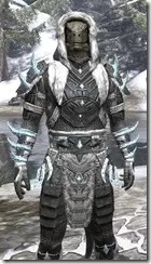 Stahlrim Frostcaster Iron - Argonian Male Close Front
