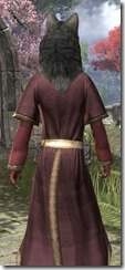 Star-Made Wolfshead Khajiit Female Close Rear