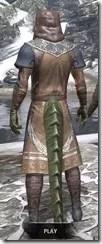 Telvanni Wizard-Lord Robe - Argonian Male Rear