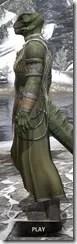 Treethane Ceremonial Dress - Argonian Male Side