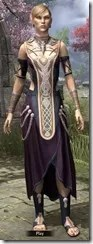 Treethane Ceremonial Dress Dyed Front