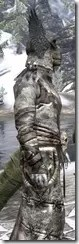Winterborn Shaman's Costume - Argonian Male Close Side
