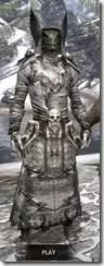 Winterborn Shaman's Costume - Argonian Male Front
