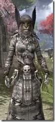 Winterborn Shaman's Costume - Khajiit Female Close Front