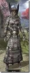 Winterborn Shaman's Costume - Khajiit Female Front