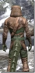Wood Elf Vanguard - Argonian Male Close Rear