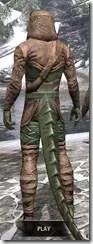 Wood Elf Vanguard - Argonian Male Rear