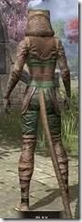 Wood Elf Vanguard - Khajiit Female Rear