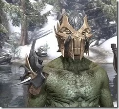 Zaan - Argonian Male Front