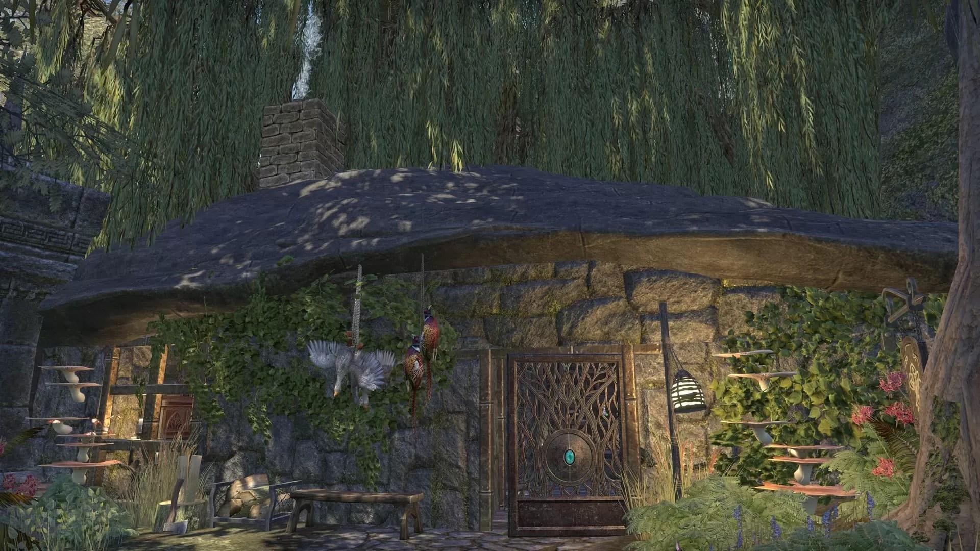 ESO Fashion | Tessa's Hunter/Alchemy hut [PS4] (Elder Scrolls Online)