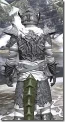 Ashlander Iron - Argonian Male Close Rear