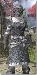 Ashlander Iron - Khajiit Female Close Front