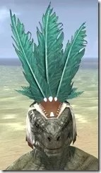 Bonding Rite Headdress Argonian Male Front