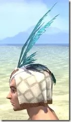 Bonding Rite Headdress Male Side