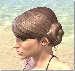 Bright-Throat Algae Face Tattoo Female Side