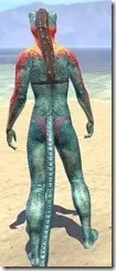 Bright-Throat Scale Khajiit Female Rear