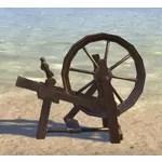Clockwork Spinning Wheel, Sturdy