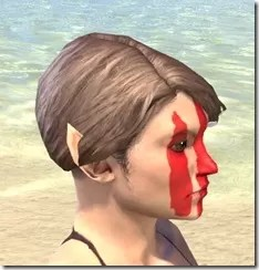 Dead-Water Blood Face Tattoos Female Right