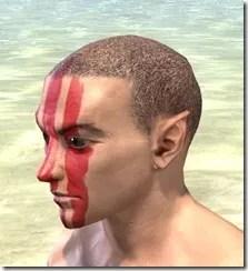 Dead-Water Blood Face Tattoos Male Side