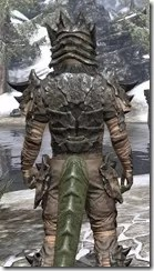 Morag Tong Iron - Argonian Male Close Rear