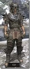 Morag Tong Iron - Argonian Male Front
