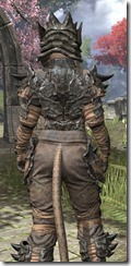 Morag Tong Iron - Khajiit Female Close Rear