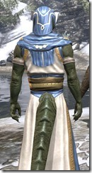 Priestess of Mara Argonian Male Close Rear