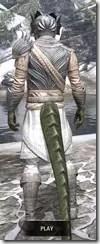 Pyandonean Iron - Argonian Male Rear