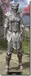 Scalecaller Iron - Khajiit Female Front