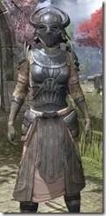 Silken Ring Iron - Khajiit Female Close Front