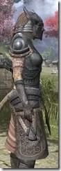 Silken Ring Iron - Khajiit Female Close Side
