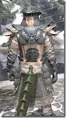 Telvanni Iron - Argonian Male Close Rear