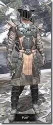 Telvanni Iron - Argonian Male Front