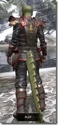 Abnur Tharn - Argonian Male Rear