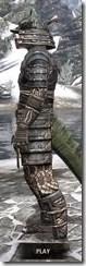 Akaviri Iron - Argonian Male Side
