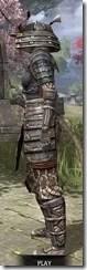 Akaviri Iron - Khajiit Female Side