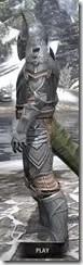 Aldmeri Dominion Iron - Argonian Male Side