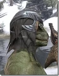 Ayleid Royal Crown - Argonian Male Right