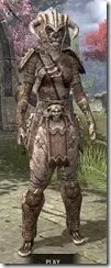 Barbaric Iron - Khajiit Female Front