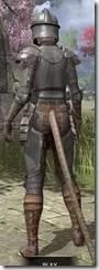 Breton Steel - Khajiit Female Rear