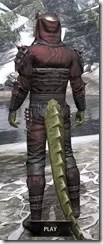 Coldsnap Medium - Argonian Male Rear