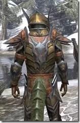 Dark Elf Dwarven - Argonian Male Close Rear