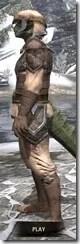 Dark Elf Homespun - Argonian Male Shirt Side