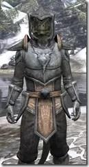 Dark Elf Iron - Argonian Male Close Front