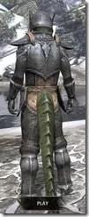 Dark Elf Iron - Argonian Male Rear