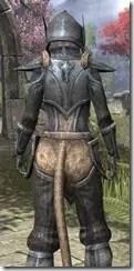Dark Elf Iron - Khajiit Female Close Rear