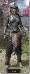 Dark Elf Iron - Khajiit Female Front