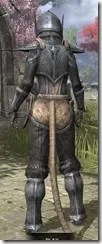 Dark Elf Iron - Khajiit Female Rear