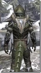 Dark Elf Orichalc - Argonian Male Close Rear